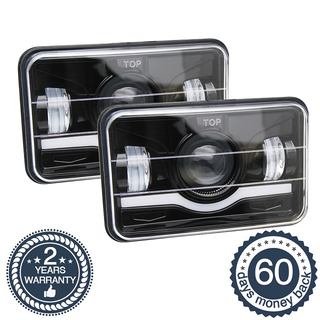 4x6 45W Square LED Headlights JG-1001N