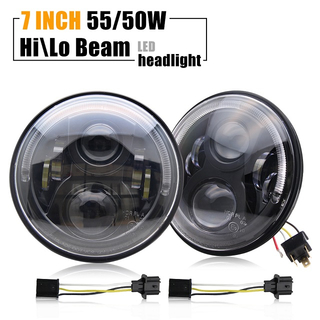 Jeep Wrangler Led Headlights J002E