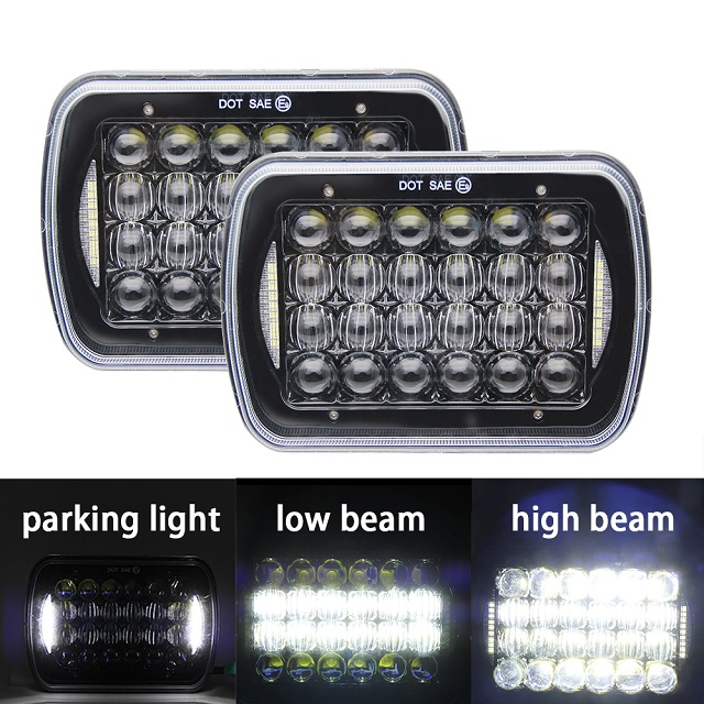 5x7 Led Headlight Conversion 1003E