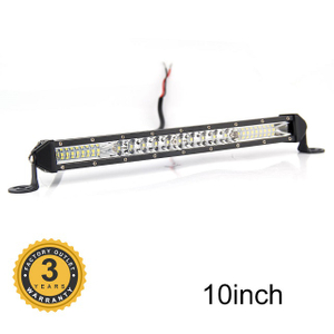 Single Row Thin 65W Led Light Bar JG-9610B