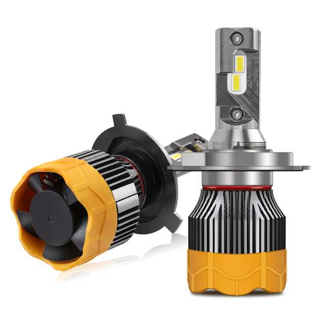 New 8000lm Lotus Bottom LED Headlight Bulb JG-GT7