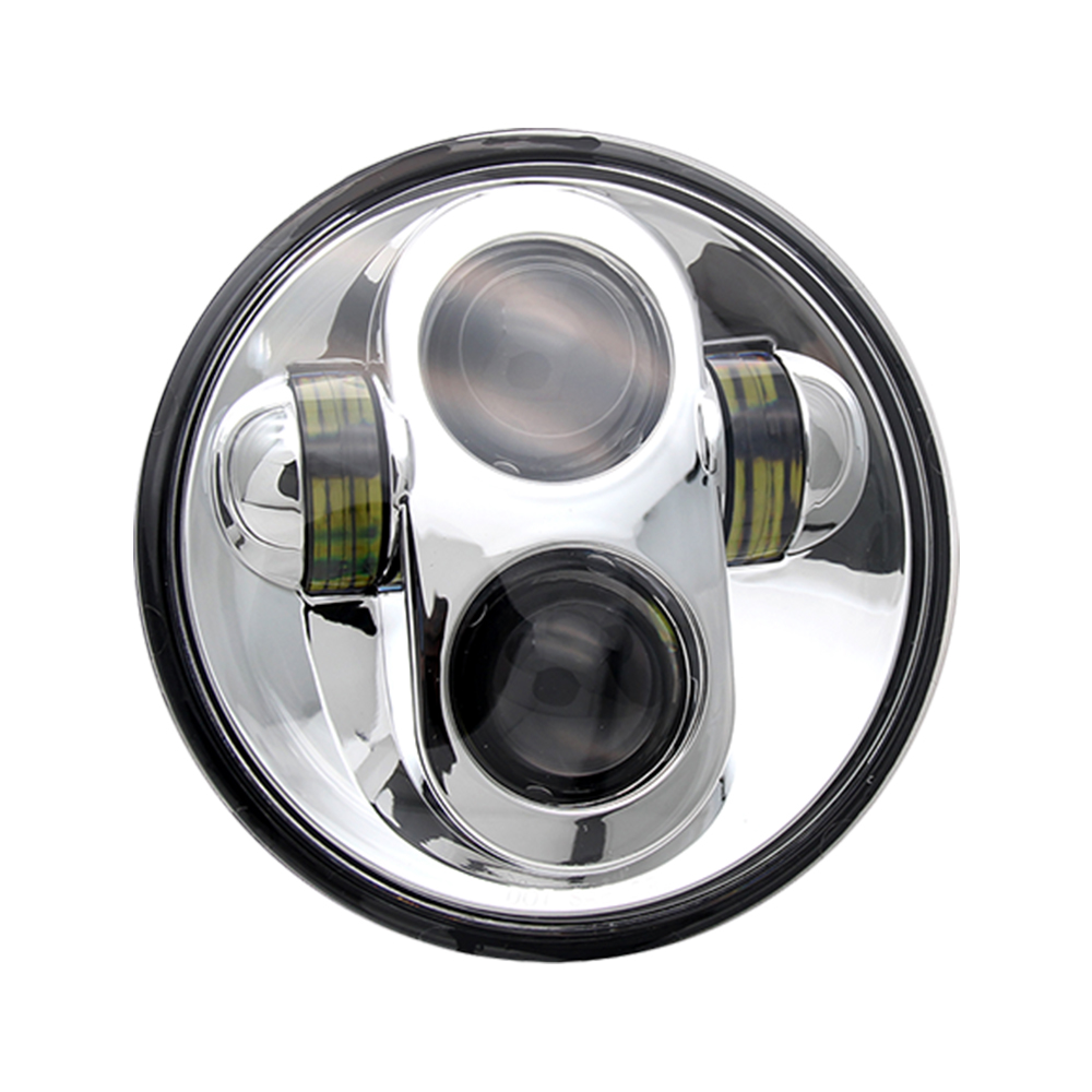 5-3/4 5.75 inch Porjector led Headlight for Harley Motorcycles JG-M002