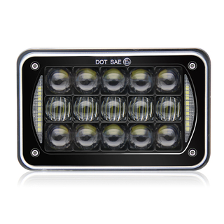 4x6 Inch 5D Lens 45W LED Headlights JG-1002E