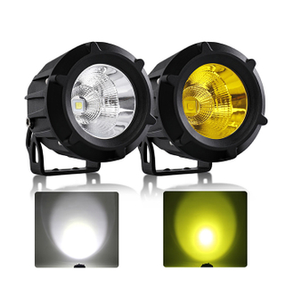 New 3.5 inch Led Round Auxiliary Lights for Motorcycle and Car JG-992M