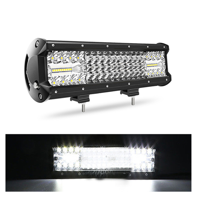 12-44 inch Bottom Bracket Barra Led Quad Rows Led Light Bar JG -9643T