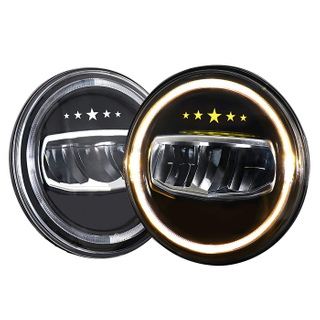 7 Inch Pentagram LED Headlight for Jeep Wrangler JG-J007