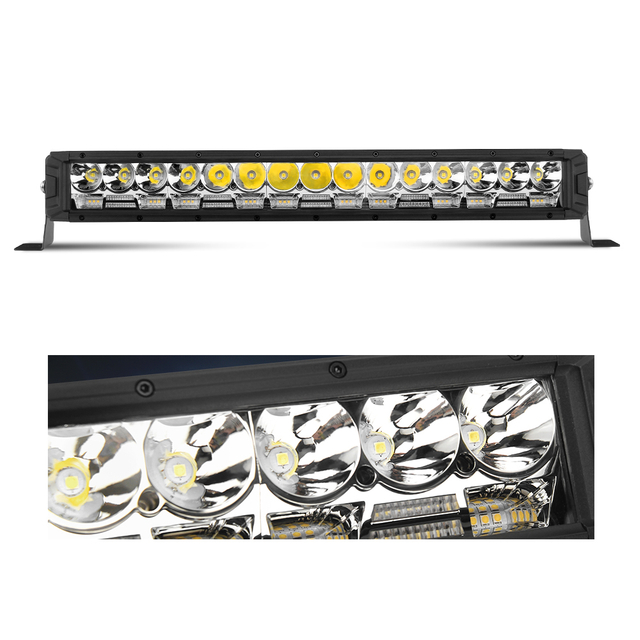 Strong Spot beam for long irradiation distance LED light bar JG-9613F