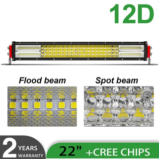 12D Quad Row ATV Led Light Bar JG-9642D